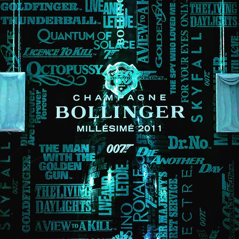 Bollinger La Grande Annee Brut James Bond 007 Edition