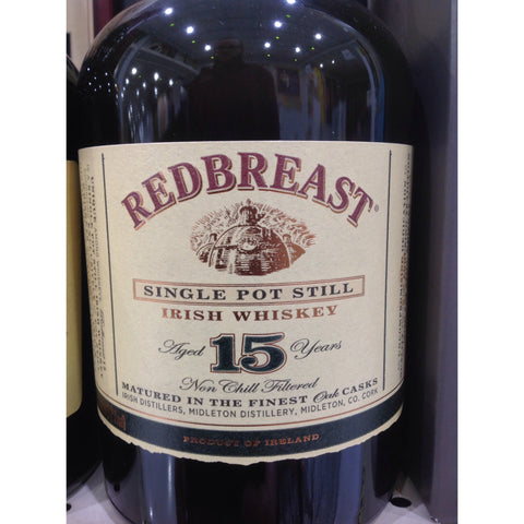 Redbreast 15 Year Irish Whiskey