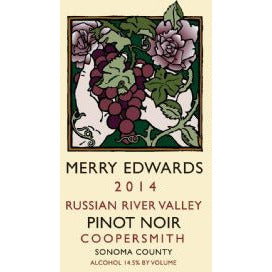 Merry Edwards Pinot Noir Coopersmith Vineyard 2014
