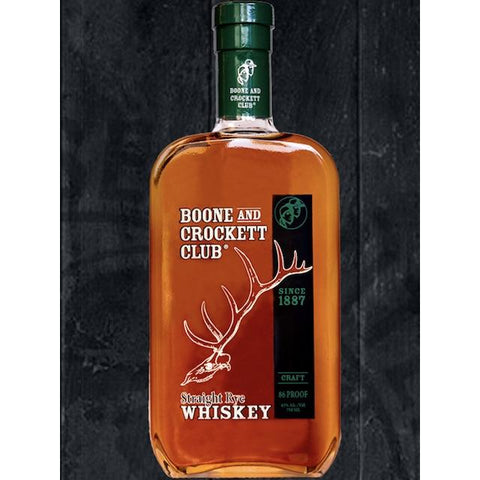 Boone and Crockett Club Straight Rye Whiskey