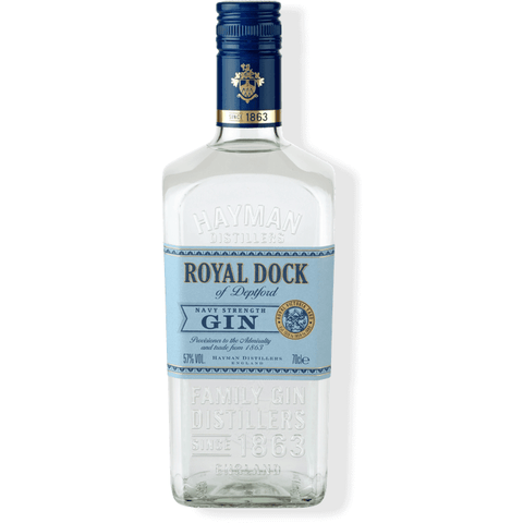 Hayman's Royal Dock Navy Strength Gin 750ml