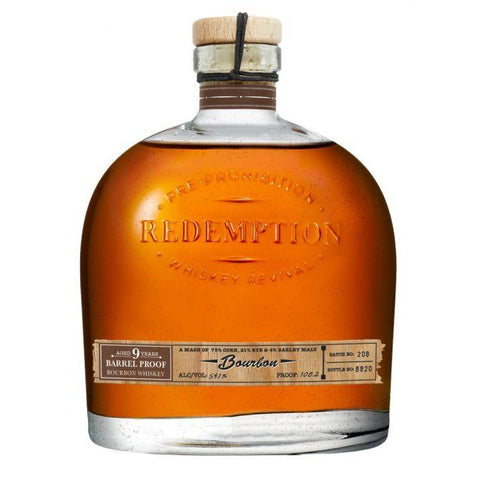 Redemption Barrel Proof Bourbon 9 Year