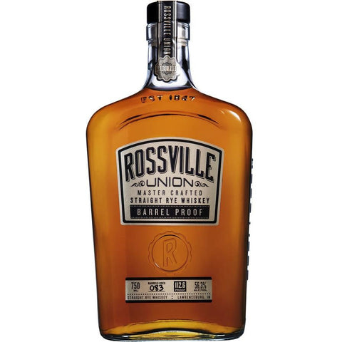 Rossville Union Barrel Proof Rye