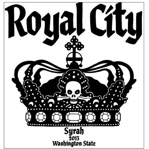 K Vintners 'Royal City' Syrah 2013