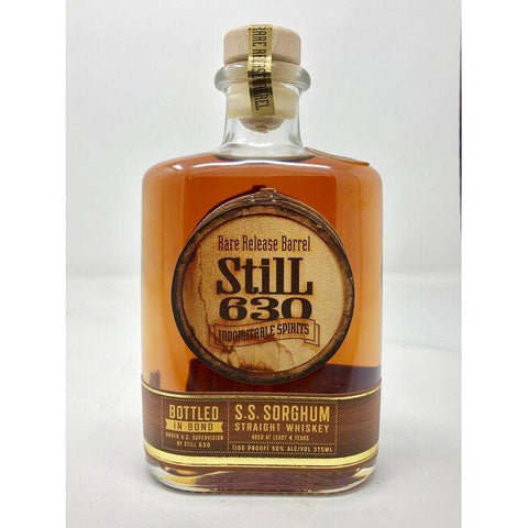 Still 630 S.S. Sorghum Bottled in Bond 375ml