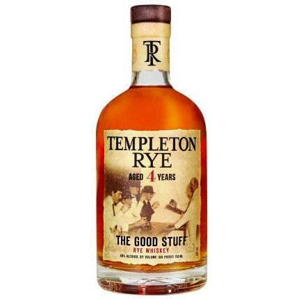 Templeton 4 Year Rye Whiskey 750ml
