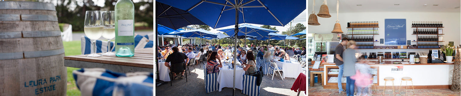 Celebrate at Leura Park Curlewis, Bellarine Winery,