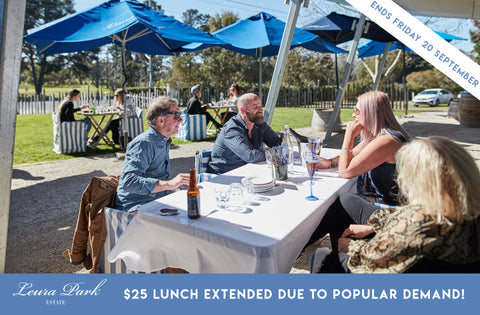 Winter Warmers Lunches - Two Courses $25