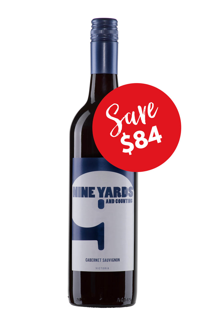 Nine Yards and Counting Cabernet Sauvignon 2012 (12 bottles)
