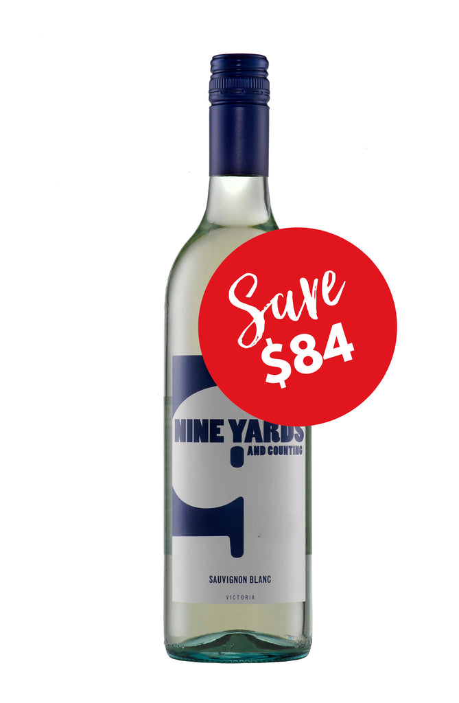 Nine Yard and Counting Sauvignon Blanc 2016 (12 bottles)