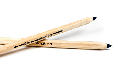 Drumstick Pen (Black) | Cool Gift For Drummer