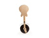 Rockin' Wood Guitar Pizza Cutter