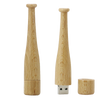 Wood Baseball Bat USB Flash Drive