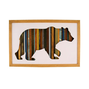 Bear Wall Art wall decor - cool woodwork