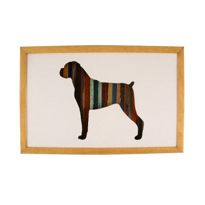 Wall Decor   Boxer Dog Wall Art