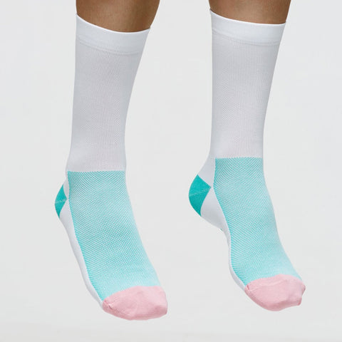 Maap Team Sock Aqua&White