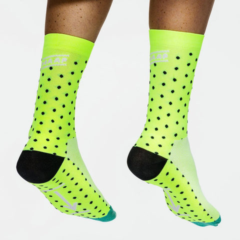 Dot Socks - Neon Yellow