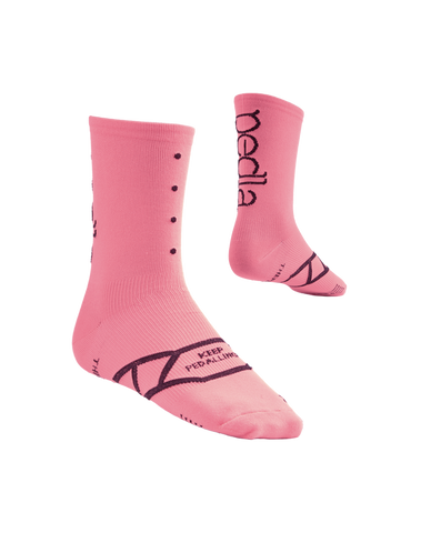 The Pedla Spinners / Musk Pink Socks