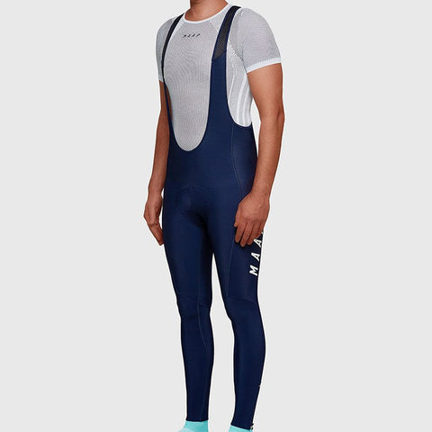 Maap Base Thermal Long Bib Navy
