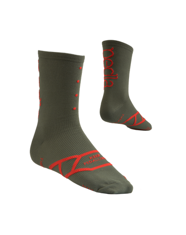 The Pedla Spinners / Olive Socks