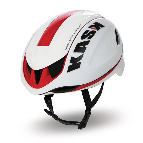 Infinity Road Helmet - White/Red