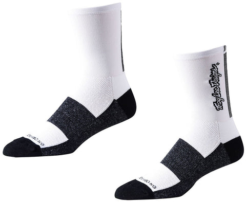 Troy Lee Designs Ace Performance Crew Socks Classic White