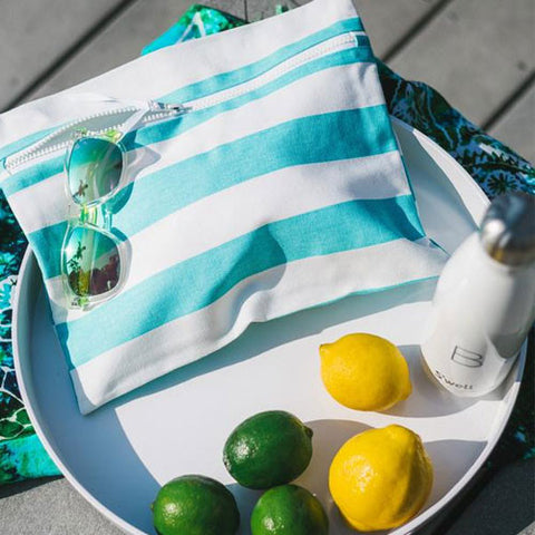 Wet Bag by Wander Wet Bags Mint Blue