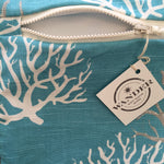 To The Sea in Infinity Pool Aqua Hang Tag