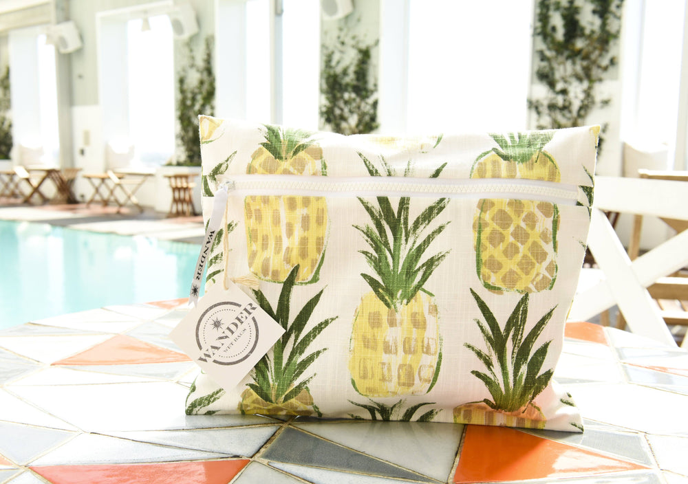 Wear a Crown in Pineapple Wet Bag