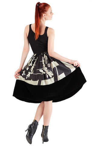 Black & White Skirt - 75% off