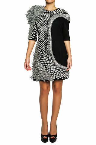 3D Nebula Short Dress - 80% off