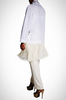 White Shirt with Frills - 60% off