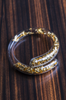 Via Lattea Gold Bangle (Snake)