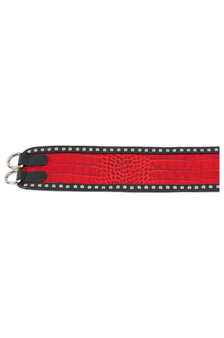 Crocodile Red Belt
