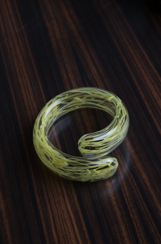 Myvatn Yellow Wires Bracelet