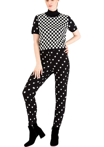 Black & white leggings - 30%off