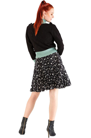 Black Pleats Skirt - 40%off