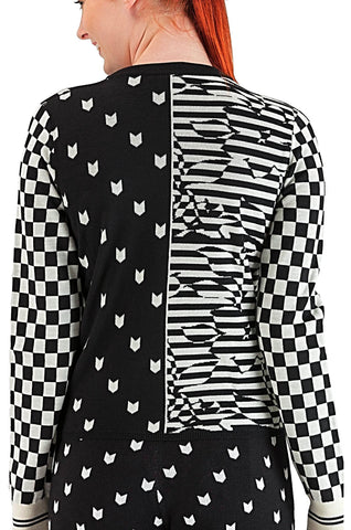 Black & White Blouse - 20%off