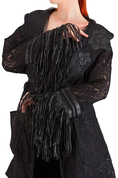 Black Lace Cardigan - 60% off