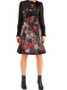 Floral Silk Dress - 40% off
