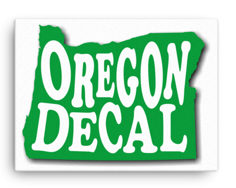 Oregon Decal