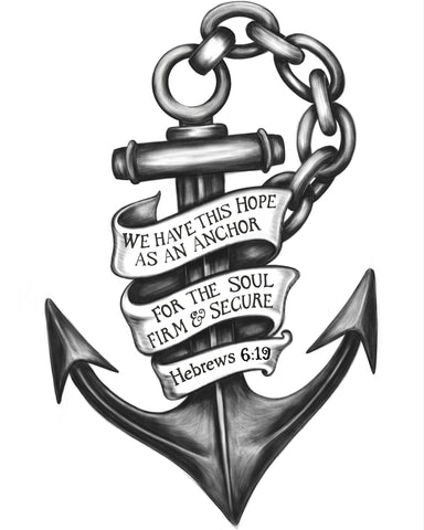 An Anchor of the Sea finished in Corel Painter by Tom Tate