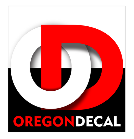 Oregon Decal logo 1 by Tom Tate