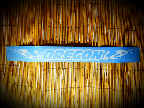 Oregon Zephyr Decal auto banner