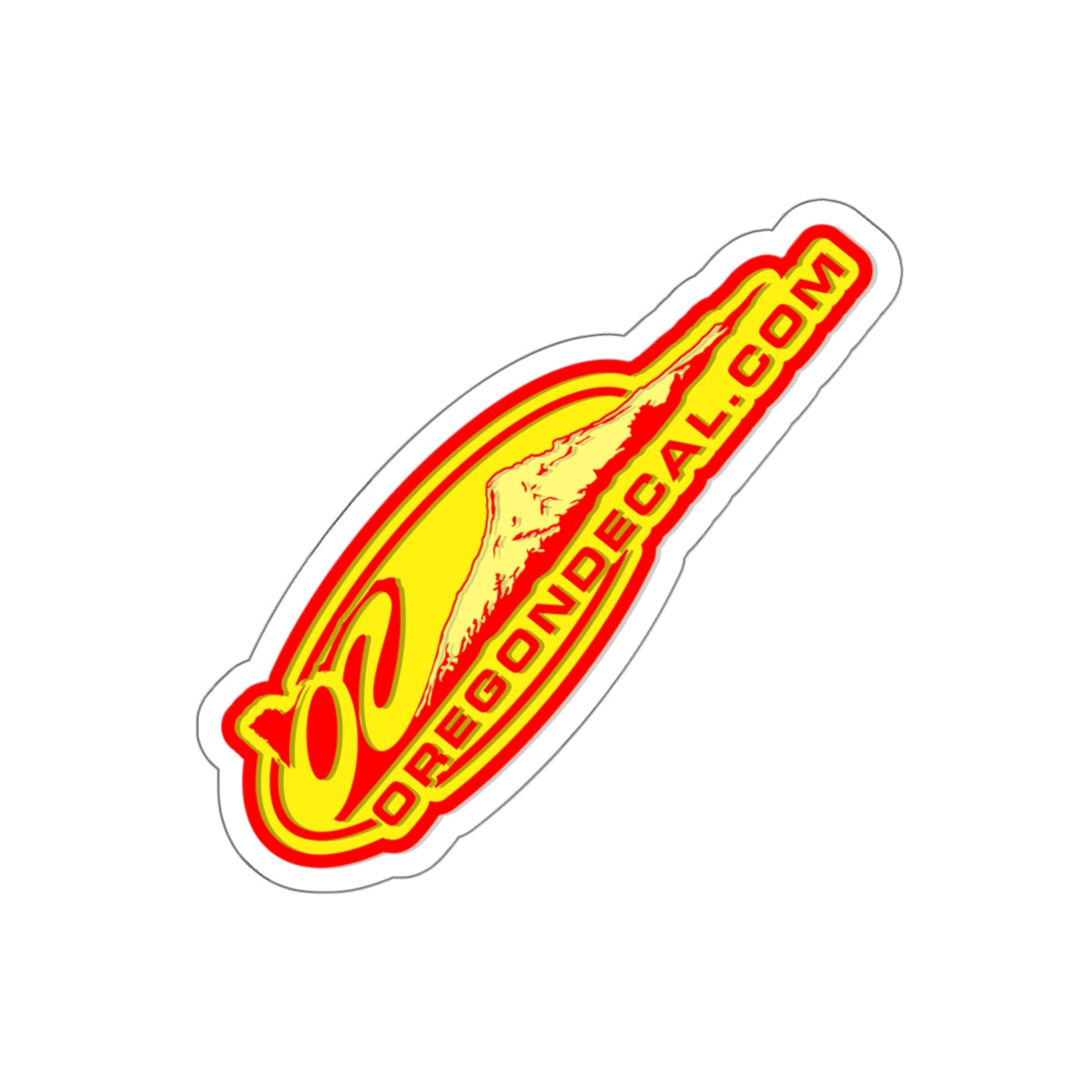 Oregon Decal logo Kiss-Cut Sticker - TaterSkinz