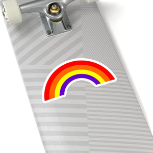Rainbow Happiness Kiss-Cut Sticker - TaterSkinz