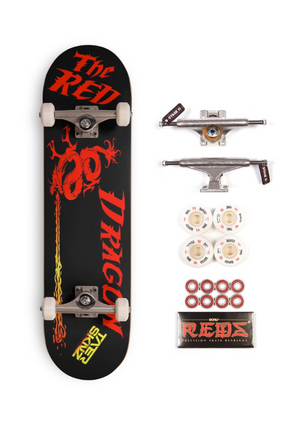 The Red Dragon Complete Pro Board by TaterSkinz - TaterSkinz