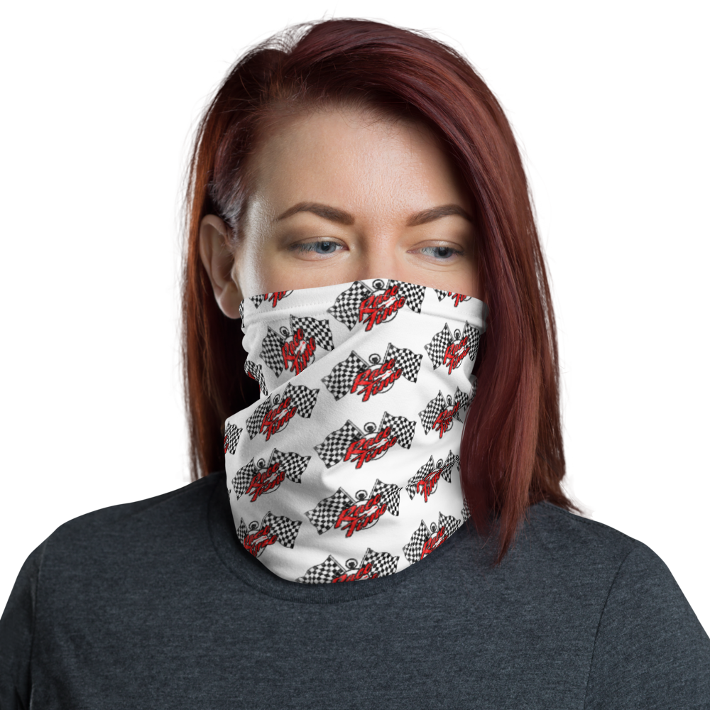 Race Time! Neck Gaiter Face mask by Race Time Tee's