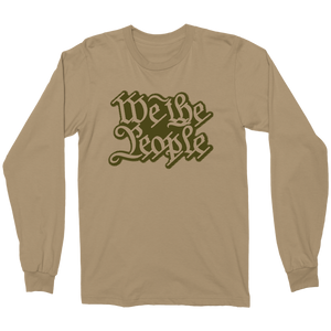 We The People Military long sleeve by 1776Wear.com - TaterSkinz