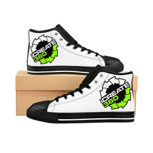 iCreate360 Men's High-top Sneakers YR SHOES .com